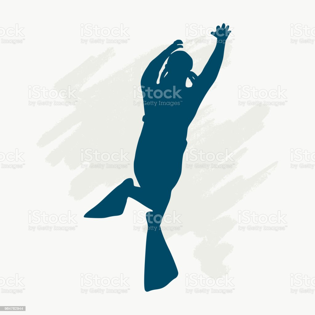 Diving sport concept royalty-free diving sport concept stock vector art & more images of adult