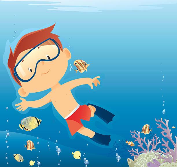 tauchen - schwimmpflanzen stock-grafiken, -clipart, -cartoons und -symbole