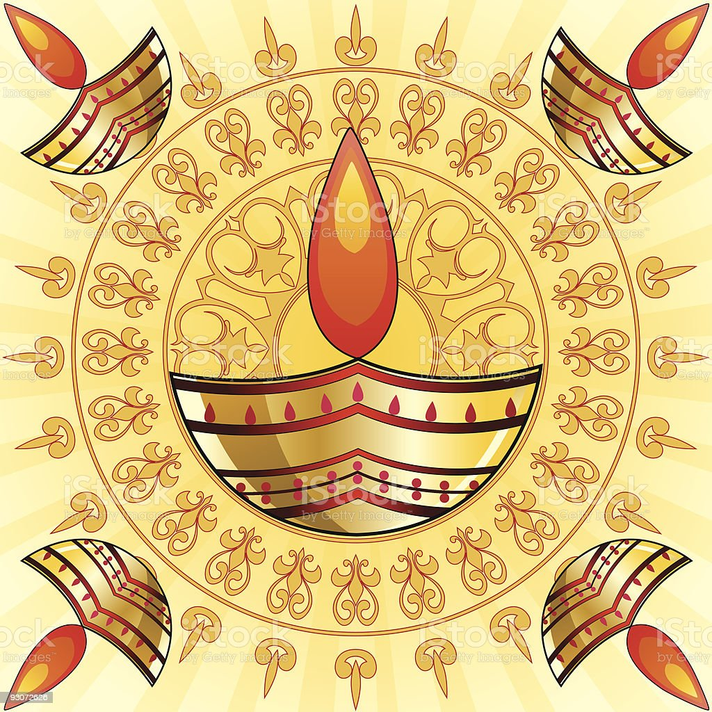 Diwali Background royalty-free stock vector art