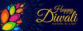 Diwali celebration poster