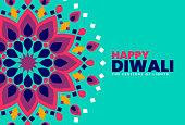 Diwali Celebration template