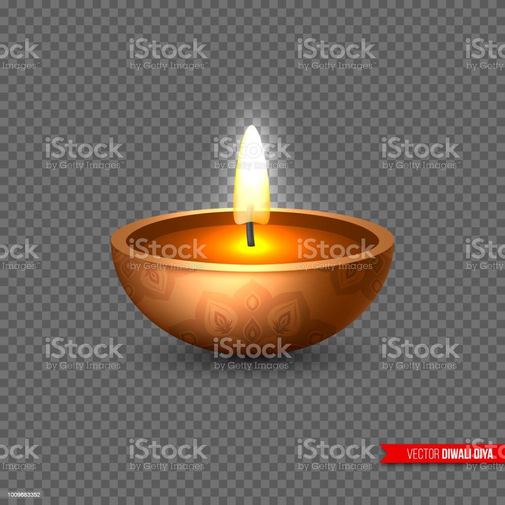 Diwali Diya Lampe A Huile Element Pour La Traditionnelle Fete