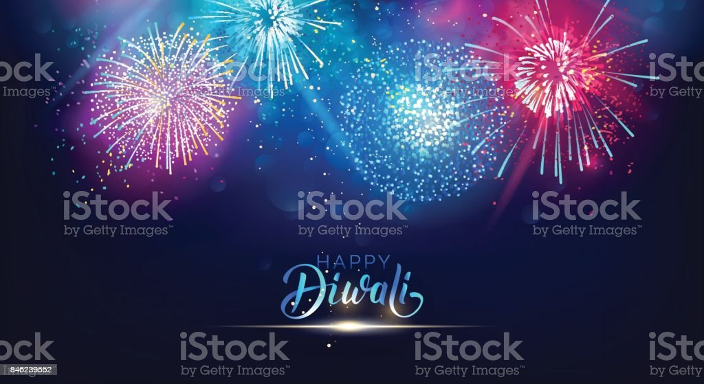 Affiche de festival lumières Diwali. affiche de festival lumières diwali vecteurs libres de droits et plus d'images vectorielles de abstrait libre de droits