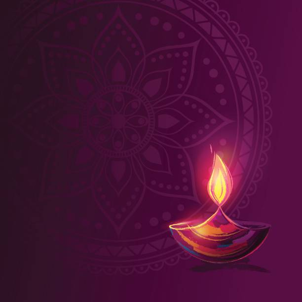 diwali festival poster. - diwali stock illustrations, clip art, cartoons, & icons