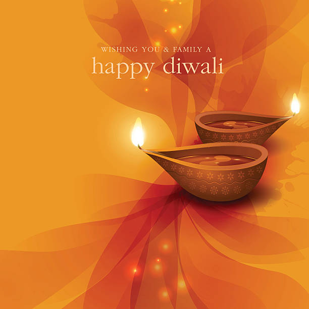 diwali festive background - diwali stock illustrations, clip art, cartoons, & icons