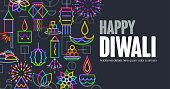 Geometric icon Diwali Greeting, Diwali ,festival of lights, Hindu festival, Hindu,
