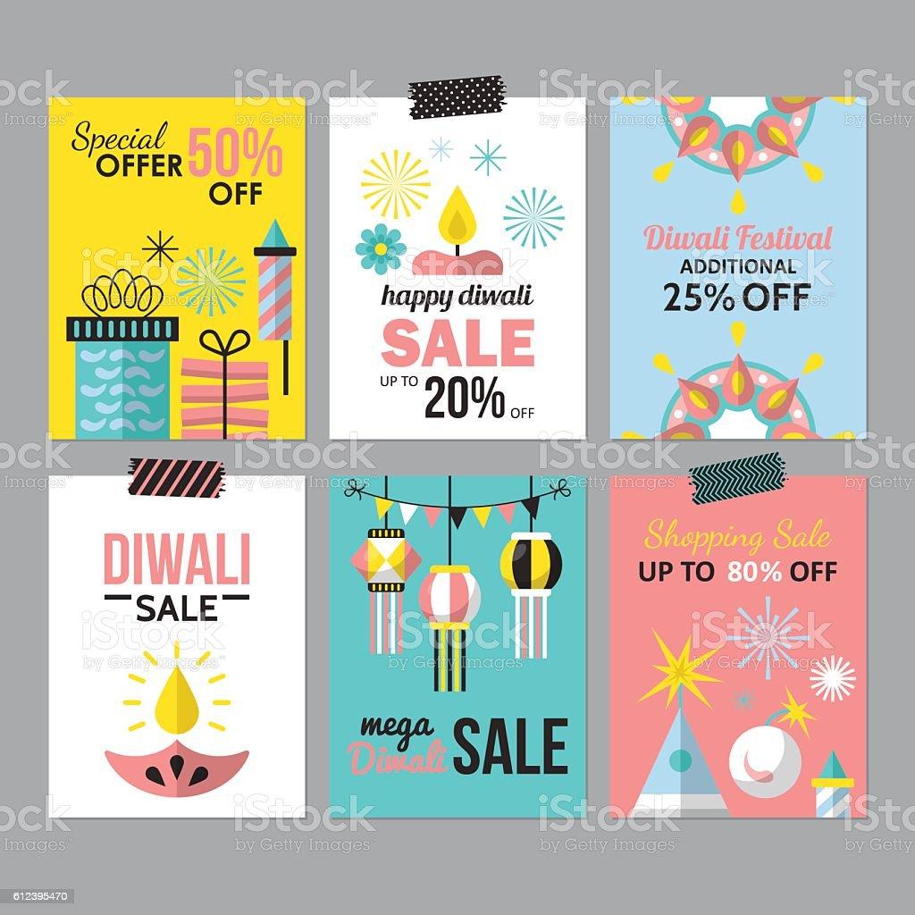 diwali hindu festival sale flyer design for social media お祝いの