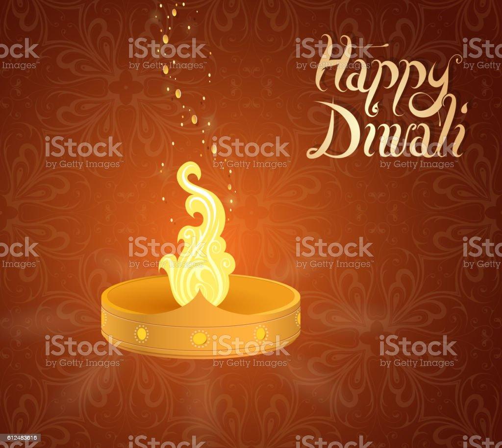 Diwali indian festival greeting card stock vector art more images diwali indian festival greeting card royalty free diwali indian festival greeting card stock vector art m4hsunfo