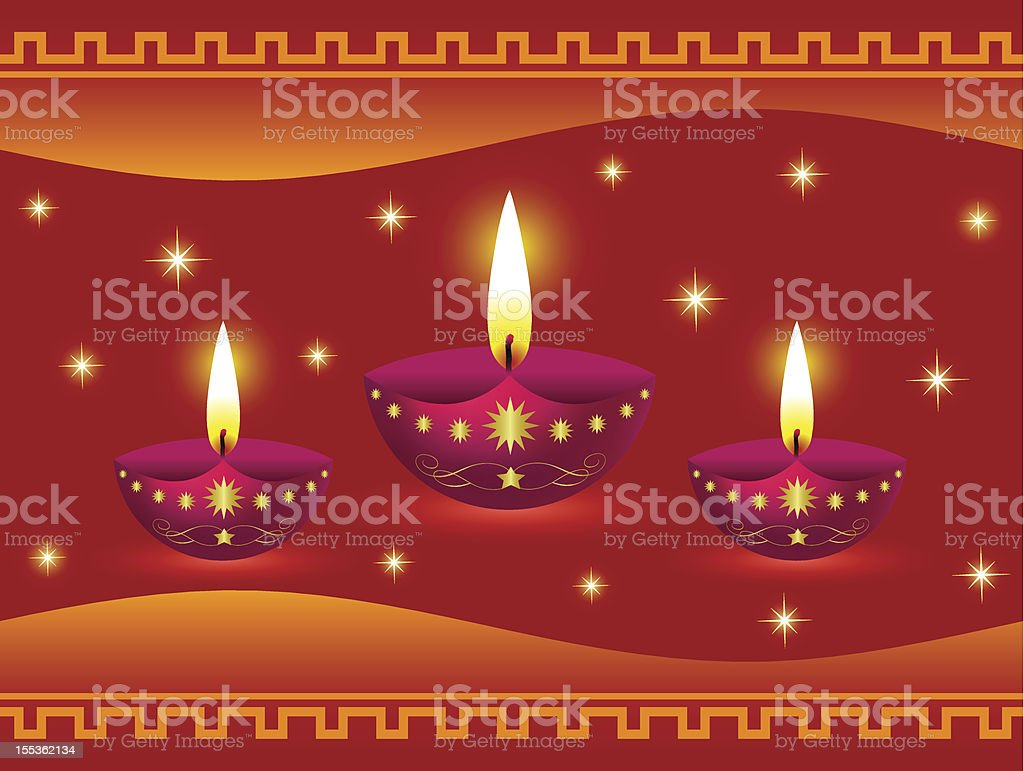 Diwali Lamps royalty-free diwali lamps stock vector art & more images of abstract