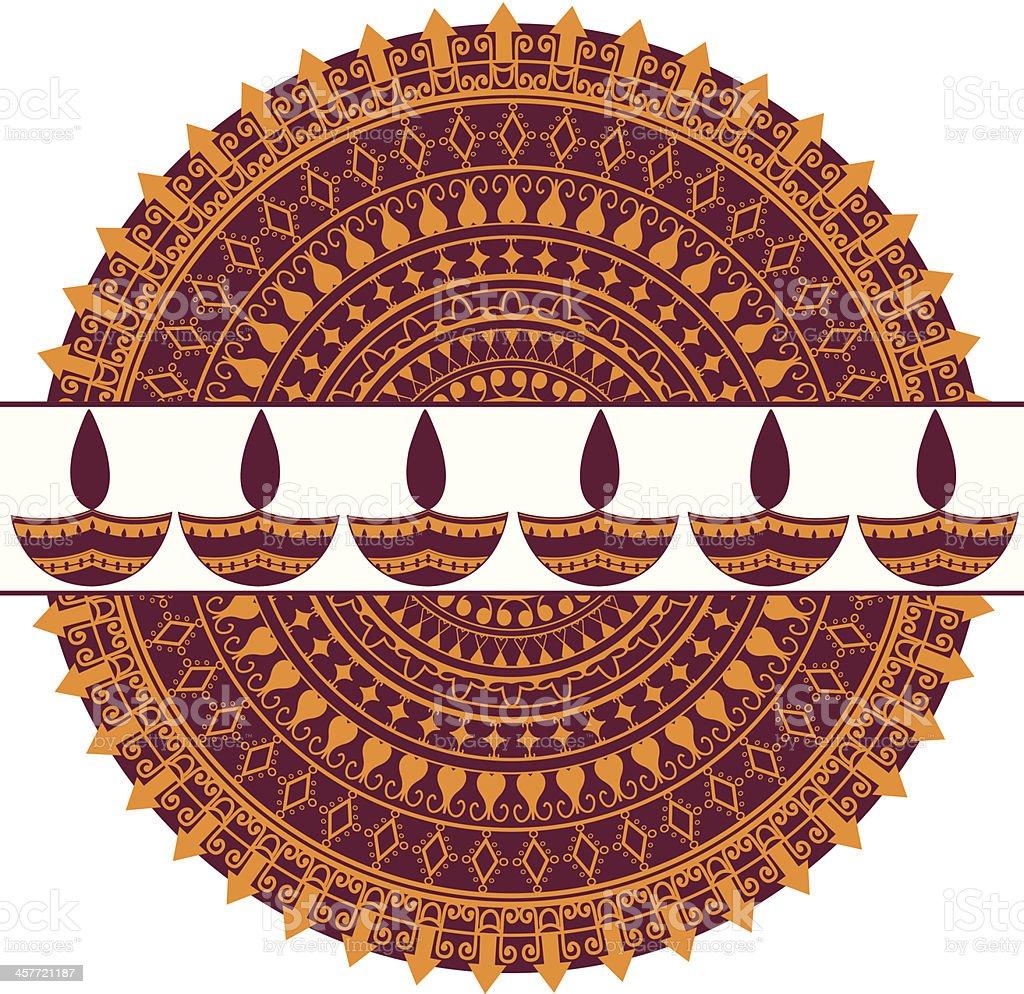 Diwali Mandala royalty-free diwali mandala stock vector art & more images of arts culture and entertainment