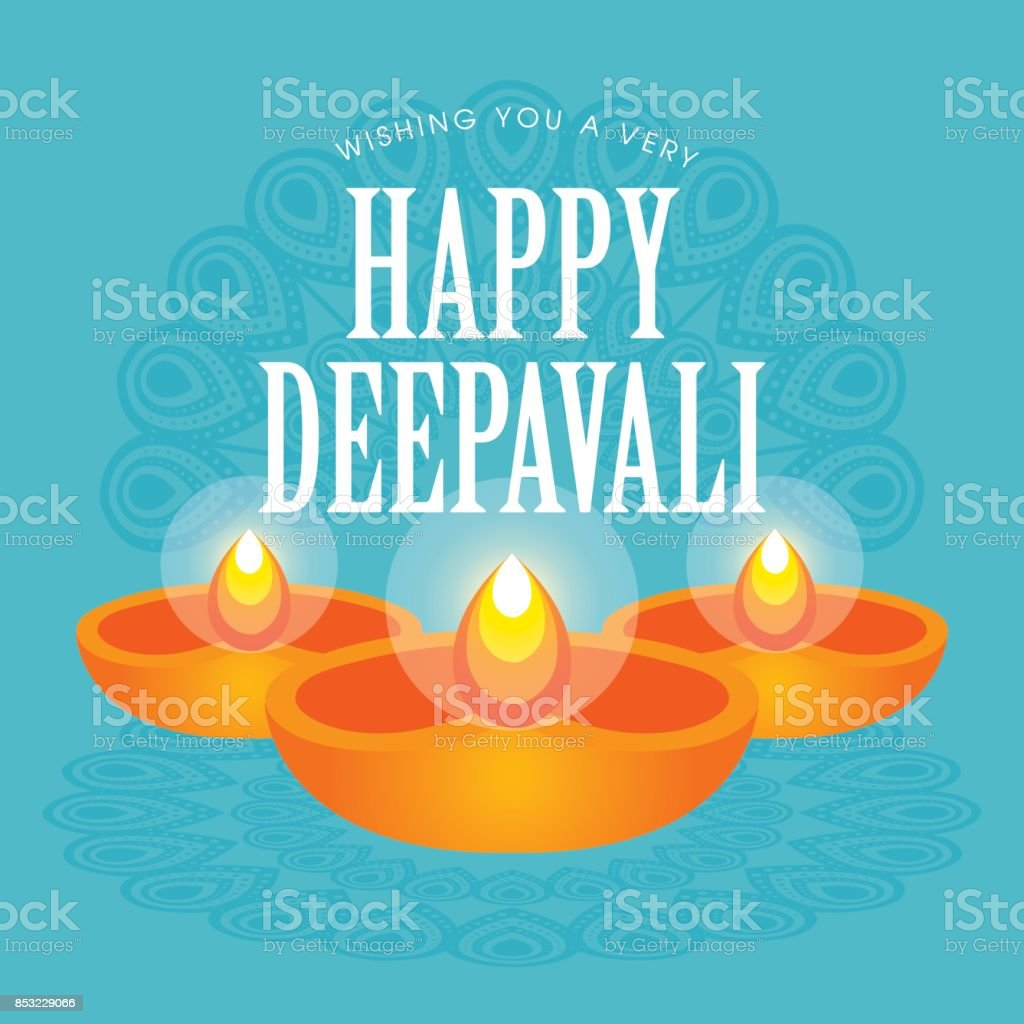 Diwali or deepavali greetings template with beautiful burning diwali or deepavali greetings template with beautiful burning diwali diya india oil lamp vector kristyandbryce Gallery