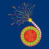 diwali big festival sale template banner design
