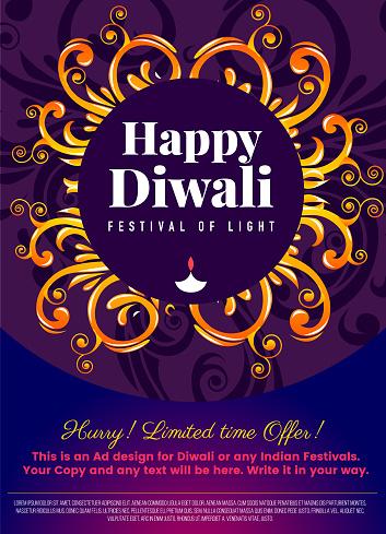 Diwali Social Network story template