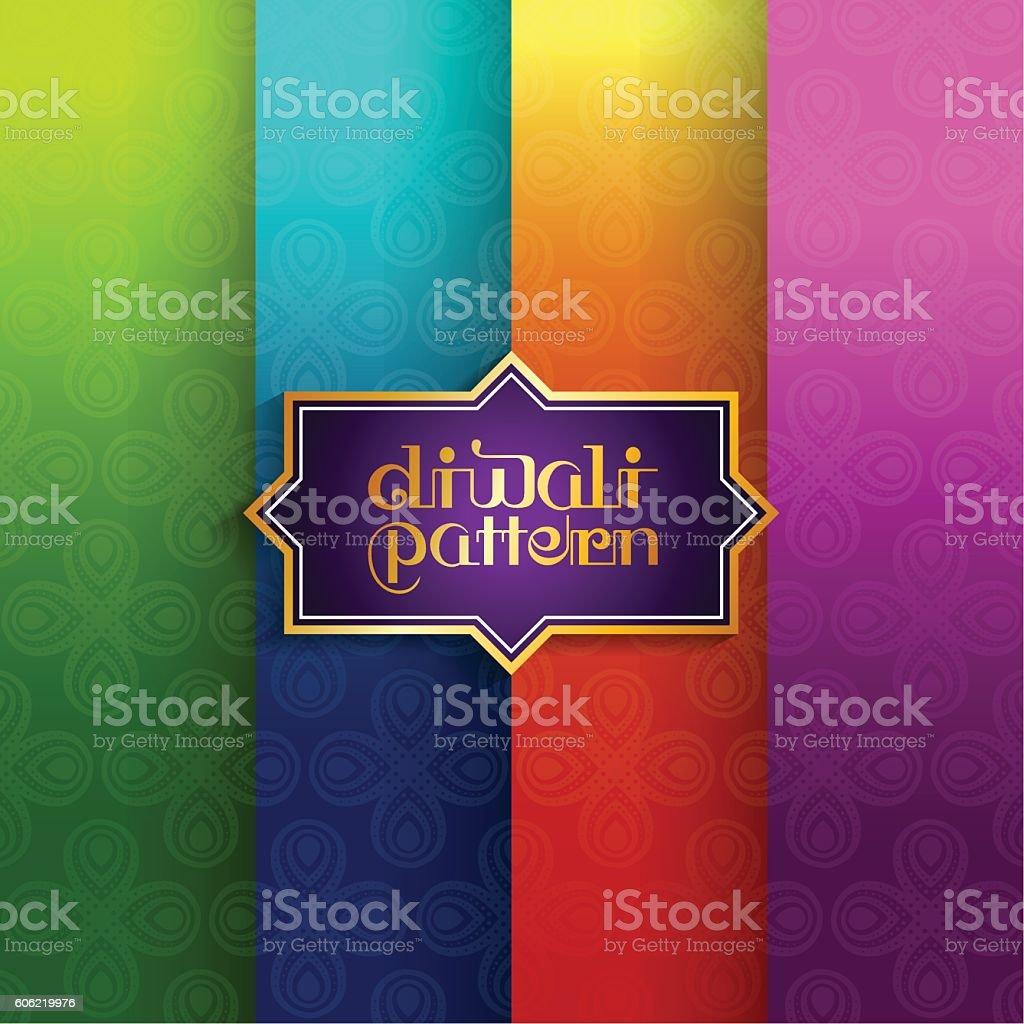 Diwali vector art illustration
