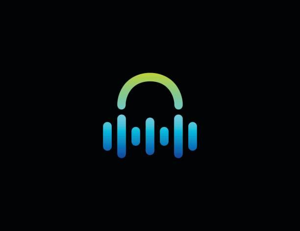 dj-ikone - podcasting stock-grafiken, -clipart, -cartoons und -symbole
