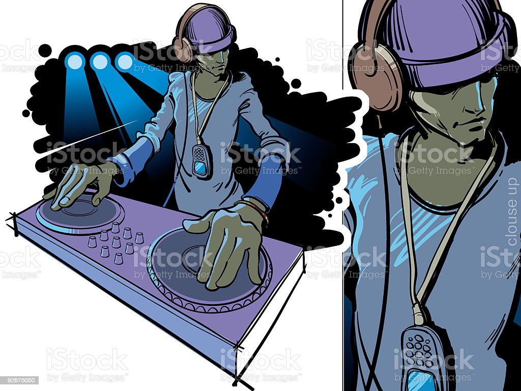 dj royalty-free dj stock vector art & more images of art