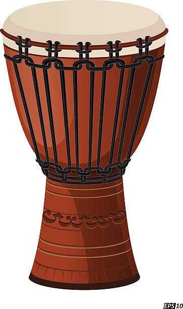 Best African Drums Illustrations, Royalty-Free Vector ...