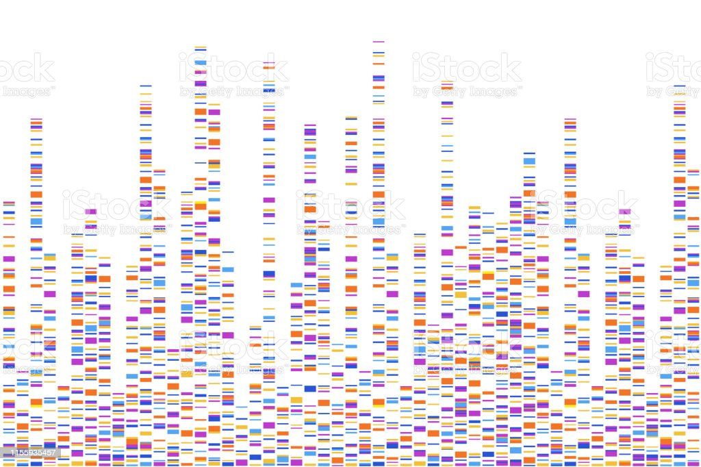 Dna Test Infographic Vector Illustration Genome Sequence Map ... Dna Mapping And Sequencing on