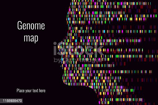 Dna test infographic. Vector illustration. Genome sequence map. Template for your design.Dna test infographic. Vector illustration. Genome sequence map. Template for your design.