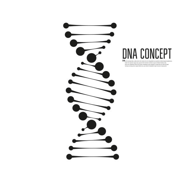 Dna vector icon Dna vector icon dna test stock illustrations