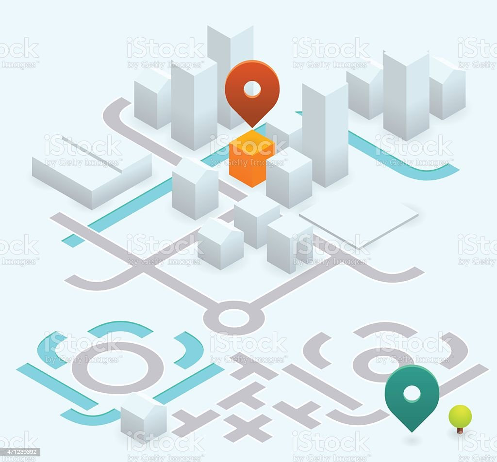 Do it yourself map kit 30 isometric stock vector art more images do it yourself map kit 30 isometric royalty free do it yourself map solutioingenieria Image collections