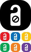 istock Do Not Disturb Icon Set 1169079284
