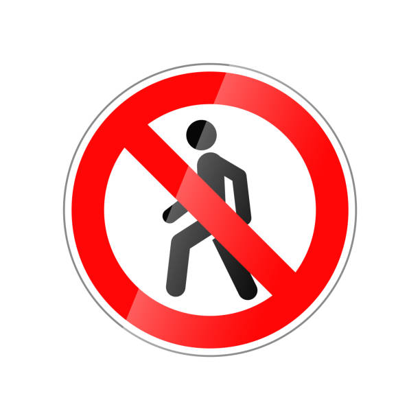 입력 하지 않으면, 흰색 절연 빨간 광택 있는 표시 금지 - prohibition stock illustrations