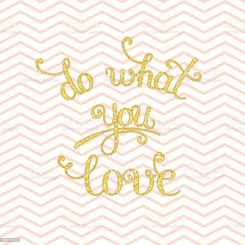 Do What You Love lettering royalty free do what you love lettering stockvectorkunst en meer beelden van abstract
