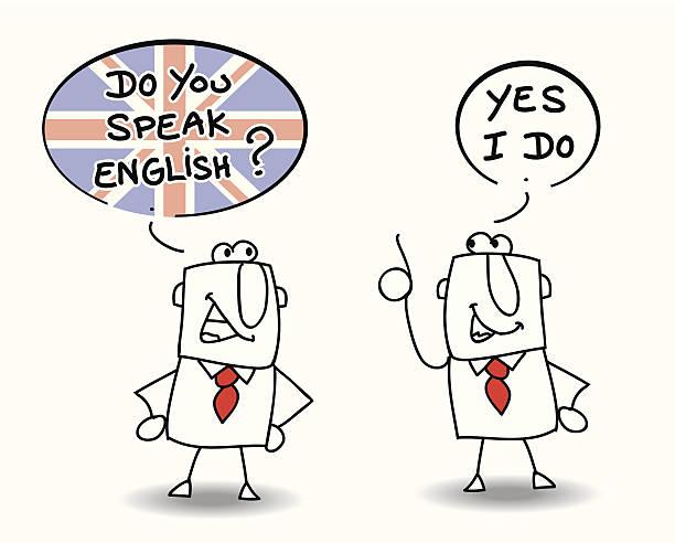 구사합니까 영어 - 잉글랜드 문화 stock illustrations