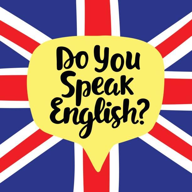 sprechen sie englisch - englischlernende stock-grafiken, -clipart, -cartoons und -symbole