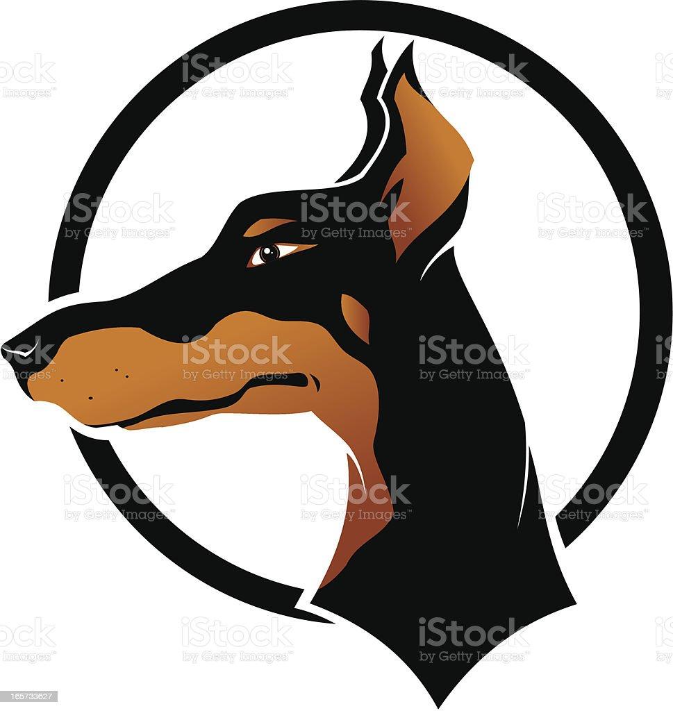 Royalty Free Doberman Pinscher Clip Art Vector Images