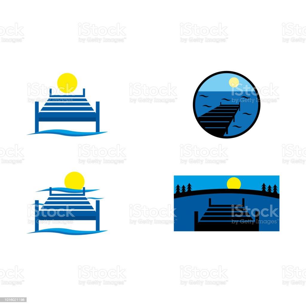 dock royalty-free dock stock illustration - download image now