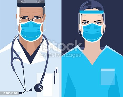 istock Doctor and nurse. 1216011164