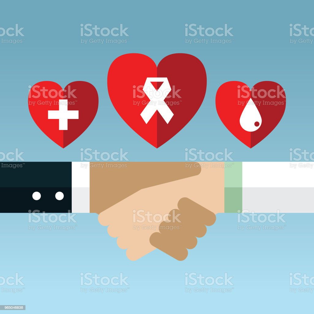 Doctor and patient royalty-free doctor and patient stock illustration - download image now