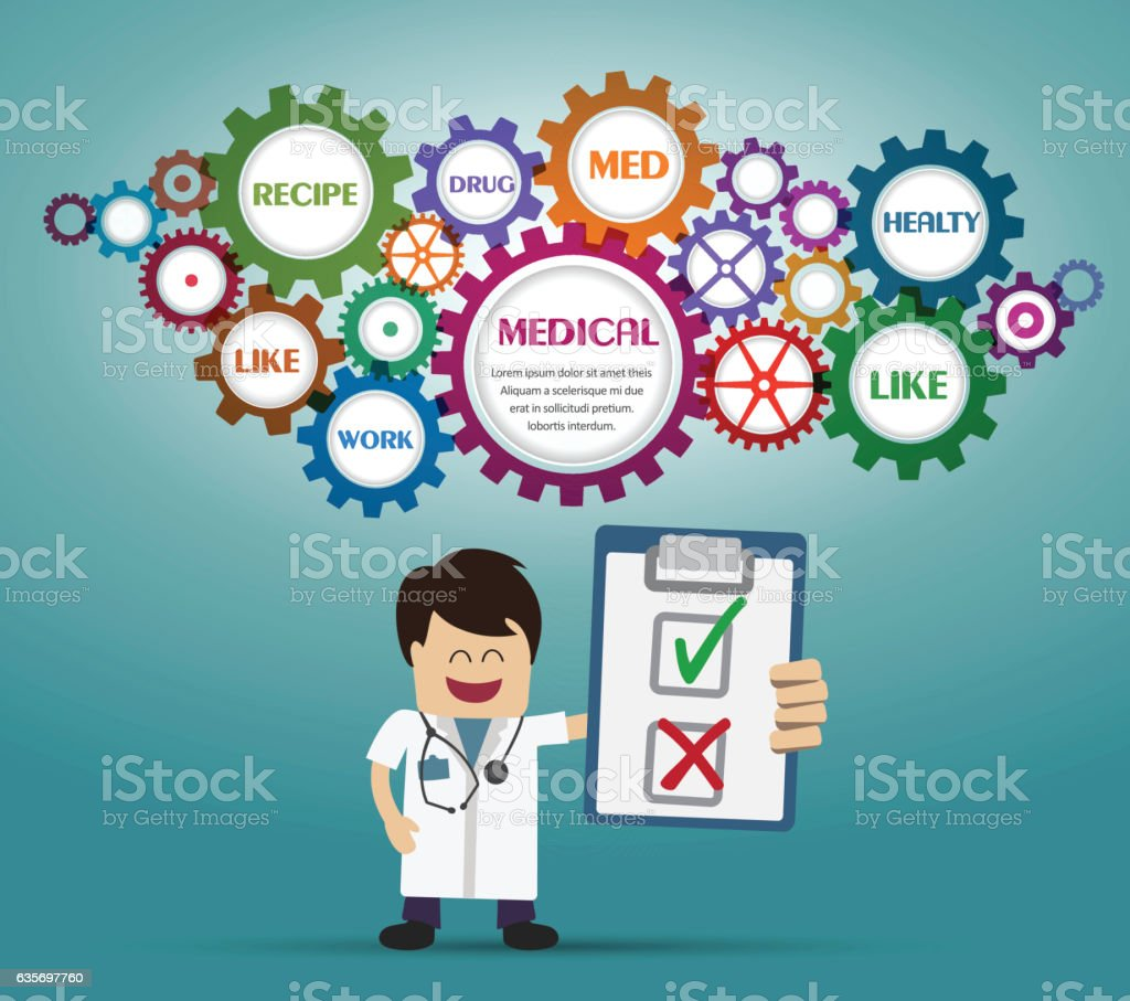 Doctor and recipe royalty-free doctor and recipe stock vector art & more images of adult