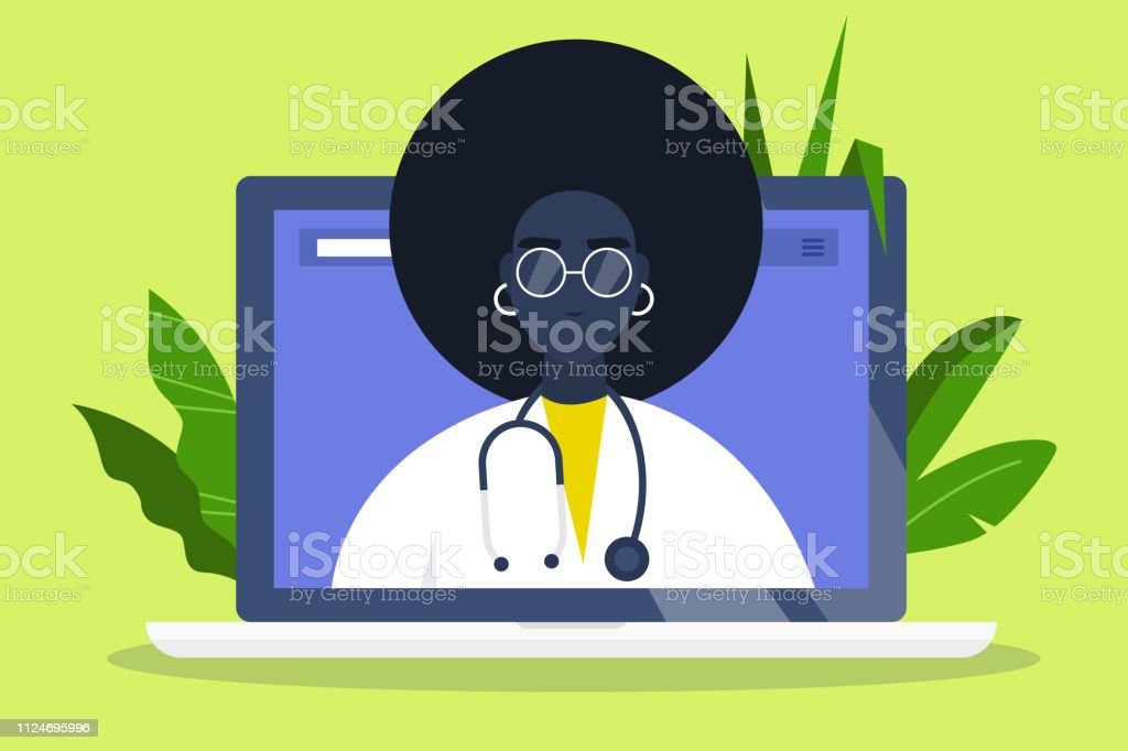Doctor appointment. Online consultation. Modern healthcare...