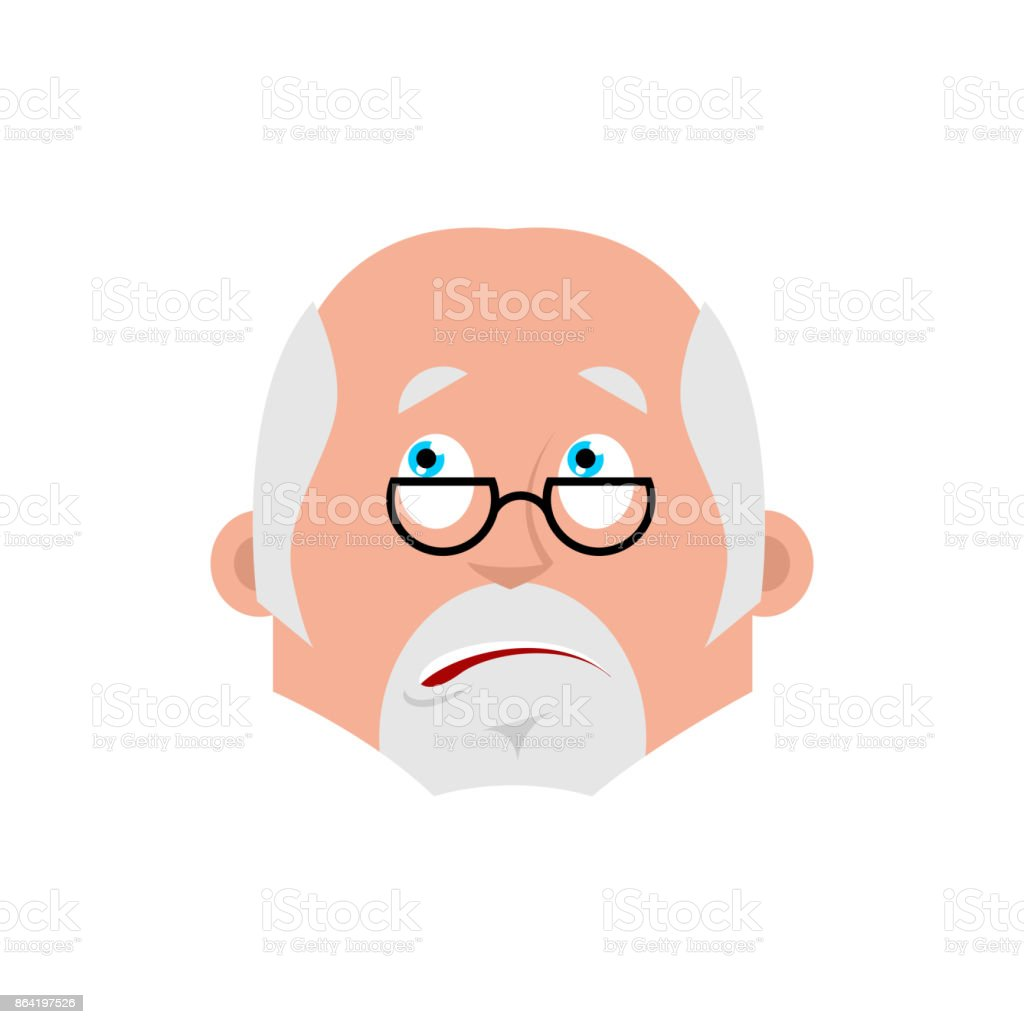 Doctor bewildered emotion avatar. Physician at a loss emoji. Vector illustration royalty-free doctor bewildered emotion avatar physician at a loss emoji vector illustration stock vector art & more images of attitude