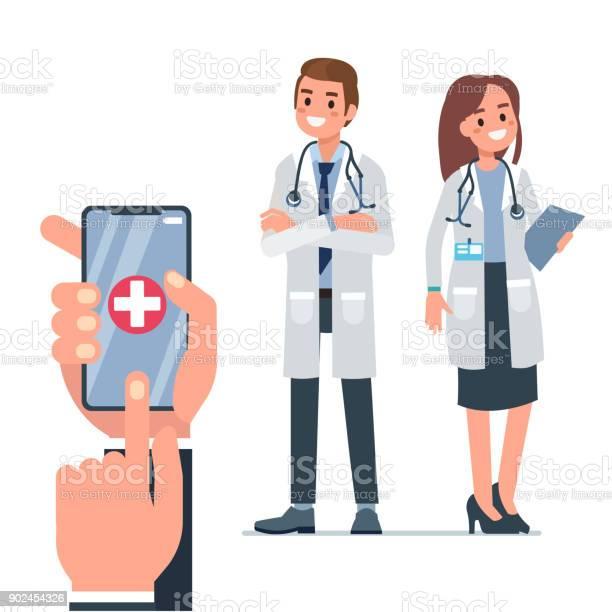 Doctor call vector id902454326?b=1&k=6&m=902454326&s=612x612&h=3 xverxet9vvcivrjngfd0jiz85nxmaq6yxqqhujlng=