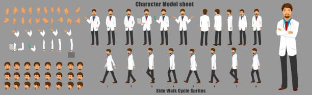 illustrations, cliparts, dessins animés et icônes de traitement des caractères du médecin - modèles de bande dessinée