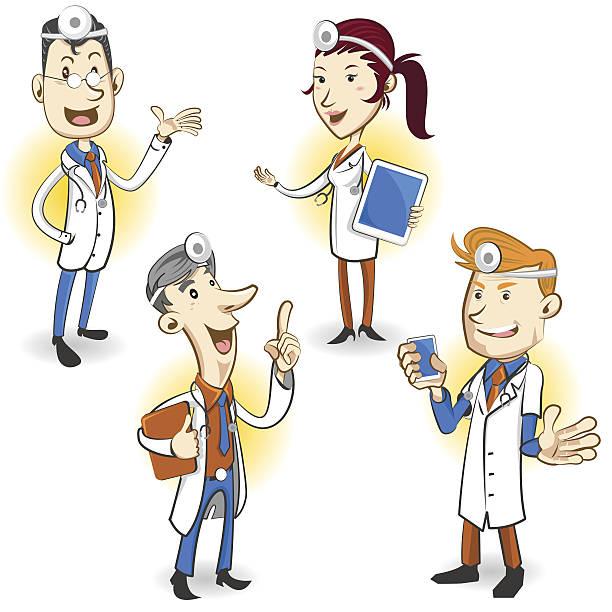 ilustraciones, imágenes clip art, dibujos animados e iconos de stock de médico de carácter - geriatría