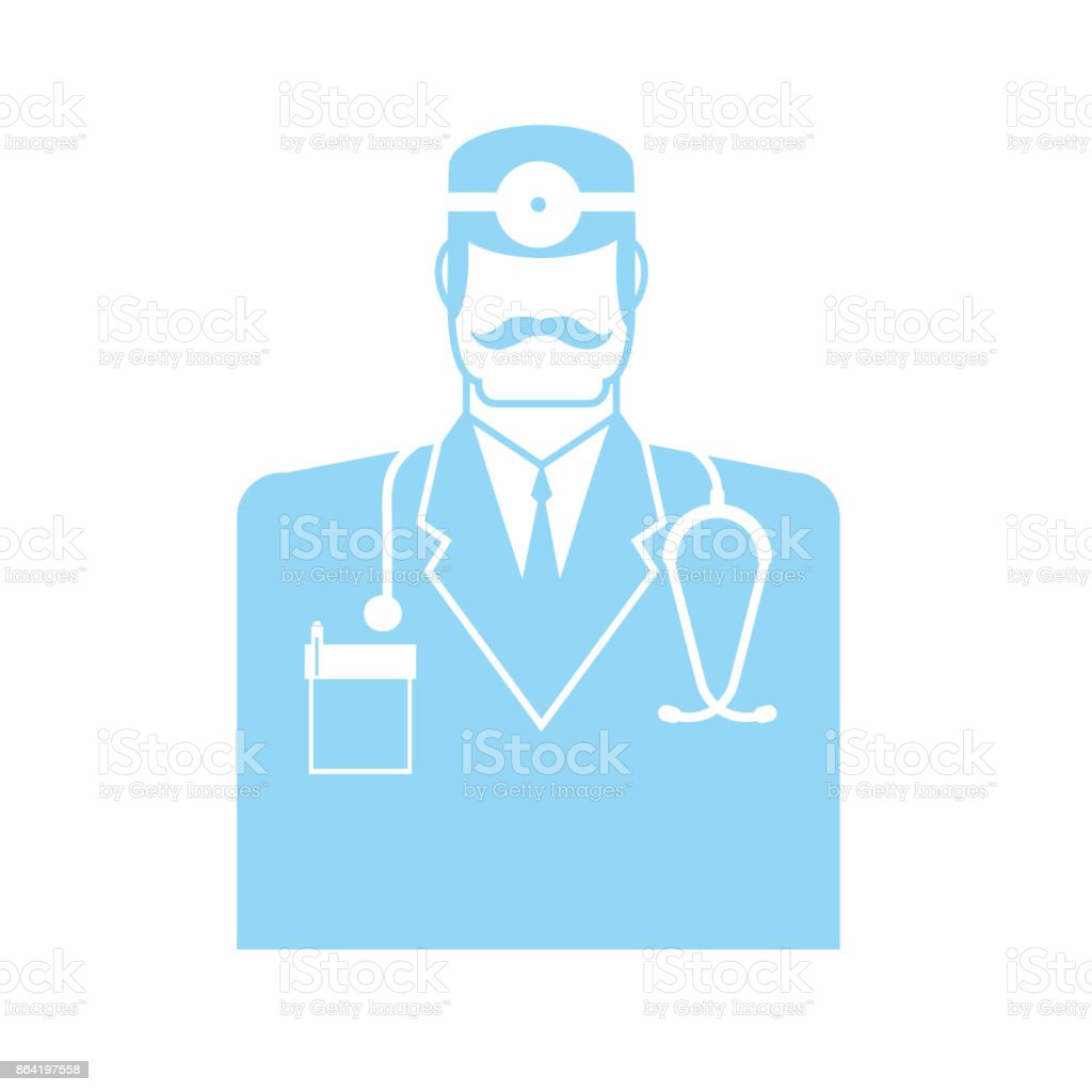 Doctor icon. physician sign symbol. Vector illustration royalty-free doctor icon physician sign symbol vector illustration stock vector art & more images of assistance