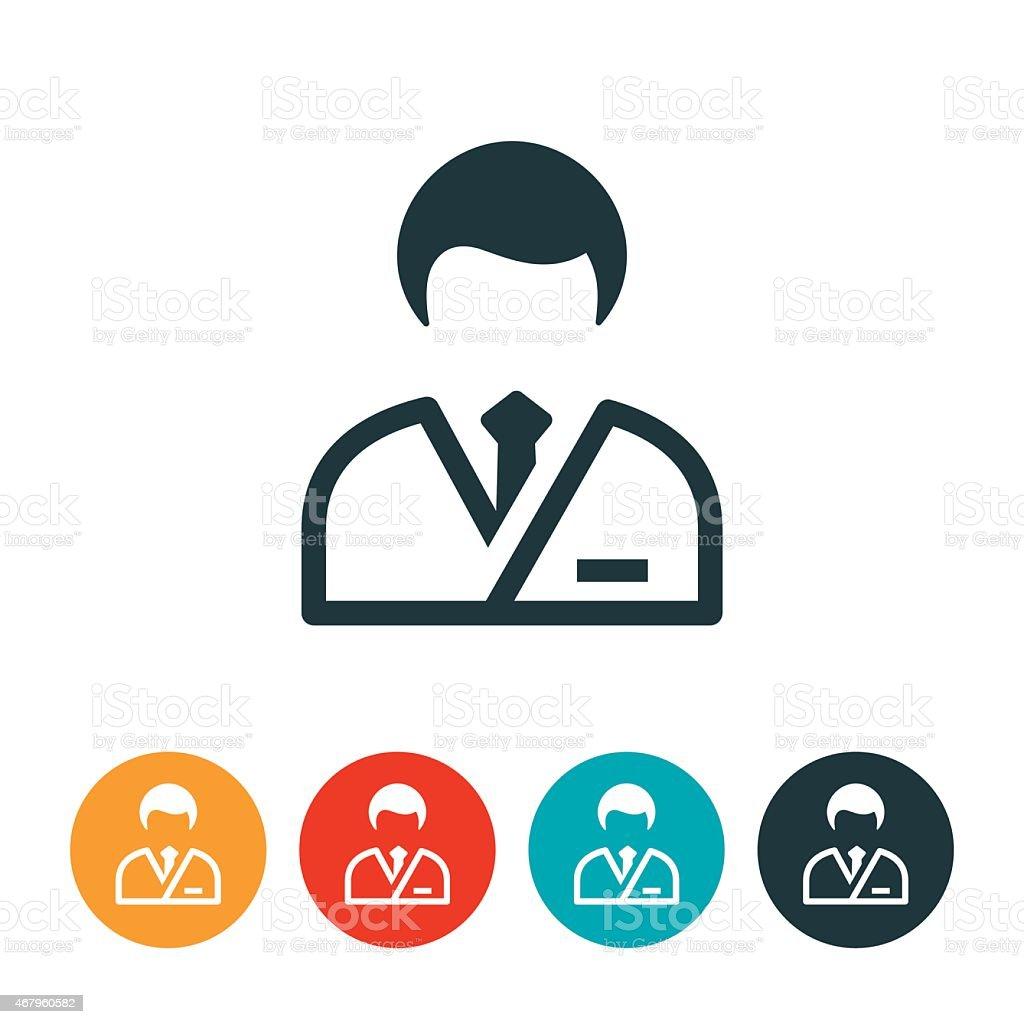 Médico icono de - ilustración de arte vectorial