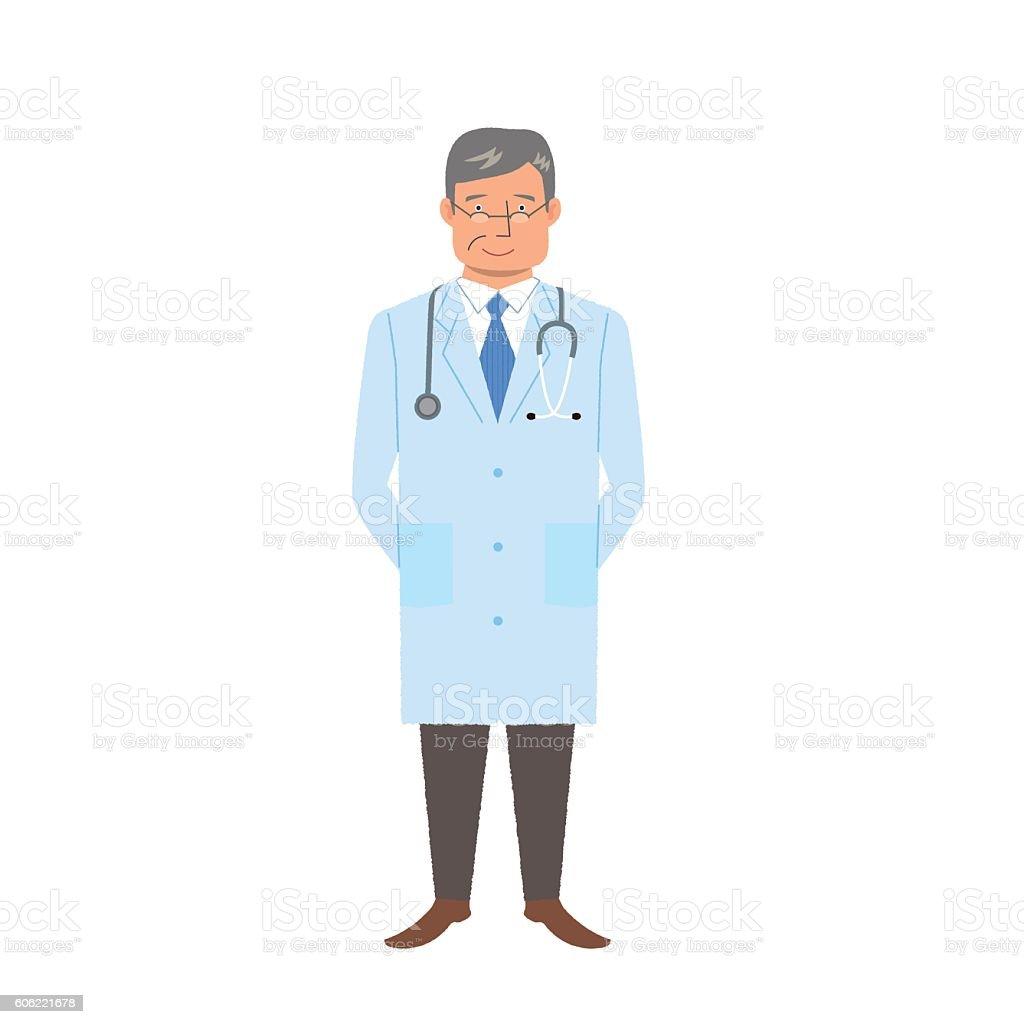 Médico  - ilustración de arte vectorial