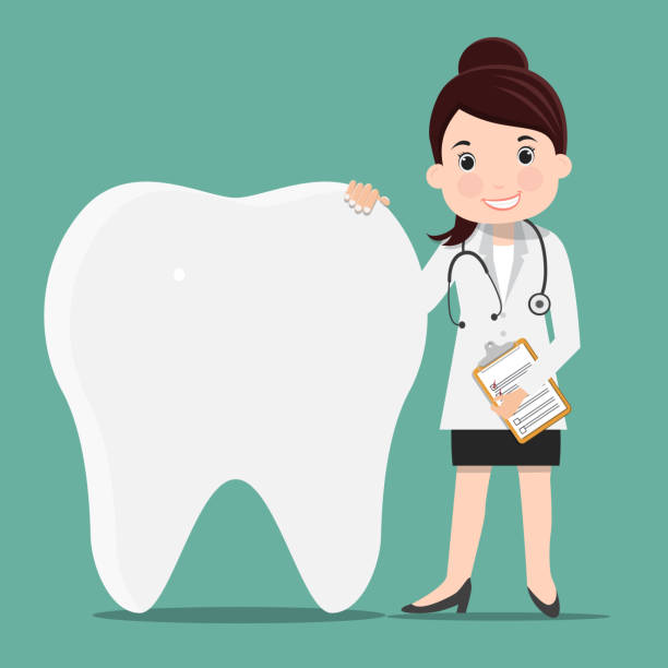 Best Woman At Dentist Illustrations, Royalty-Free Vector ...