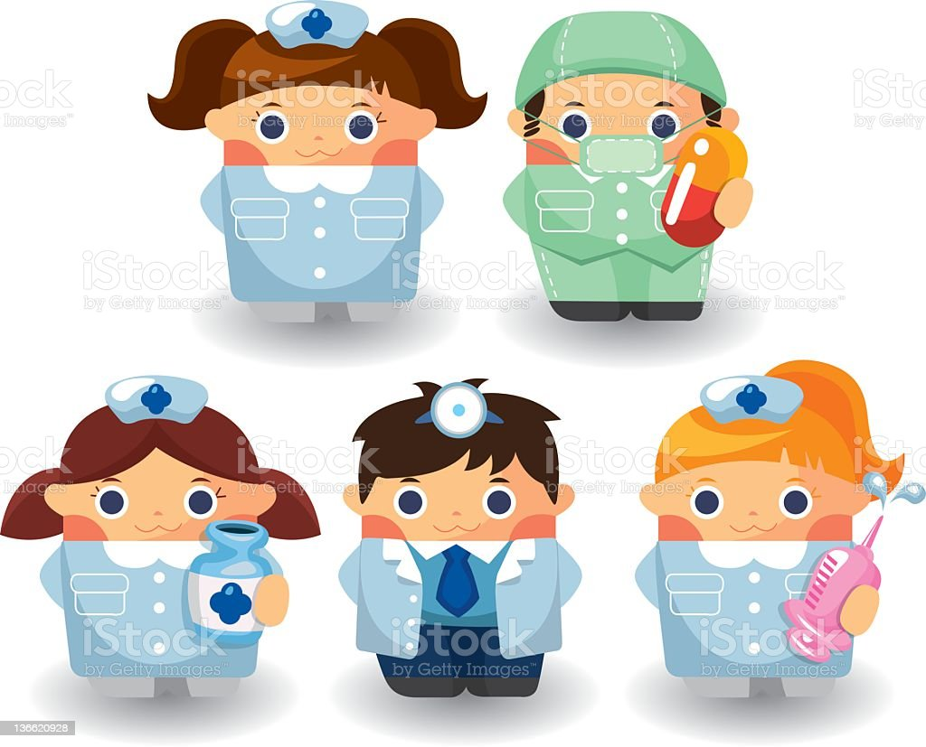 Doctors and Nurse royalty-free doctors and nurse stock vector art & more images of adult