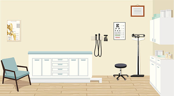 Royalty Free Doctors Office Clip Art, Vector Images & Illustrations ...