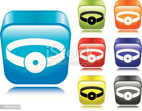 istock Doctor's Reflector Icon 165630306