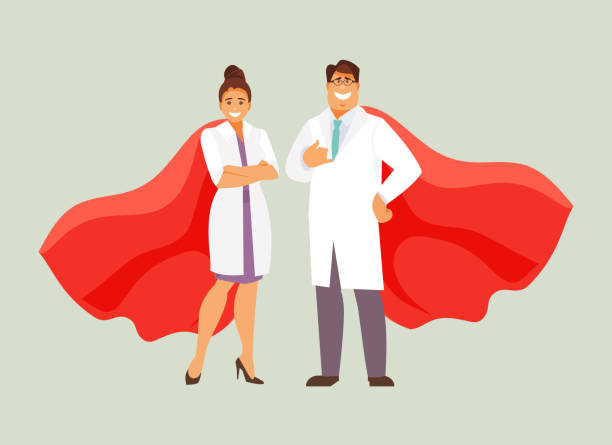 Best Doctor Cape Illustrations, Royalty-Free Vector Graphics