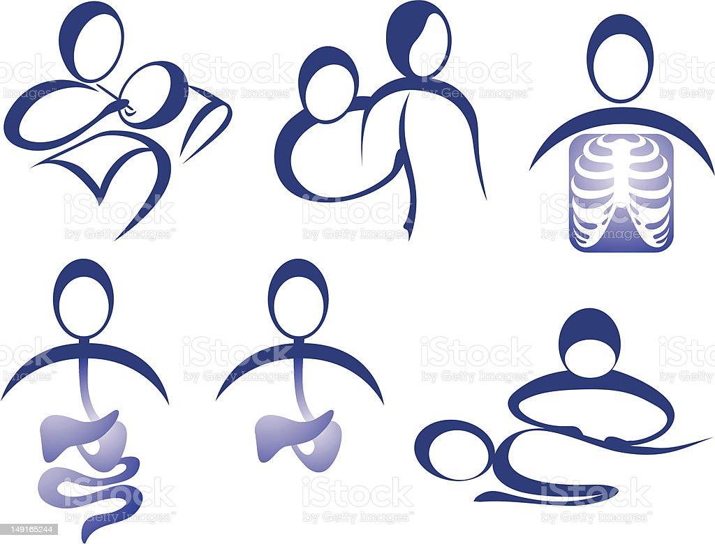 Doctors royalty-free doctors stock vector art & more images of abdomen