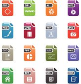 Document and File Type Icons